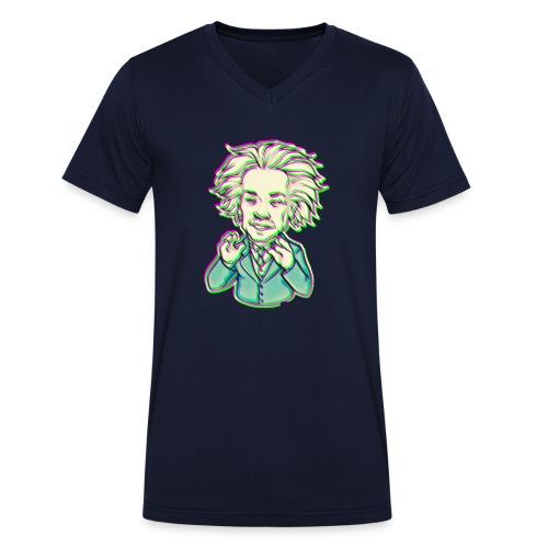IMG 20210819 144743 e - T-shirt ecologica da uomo con scollo a V di Stanley & Stella