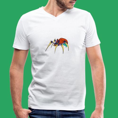 spider man frankenstein monster computer icons car - T-shirt ecologica da uomo con scollo a V di Stanley & Stella