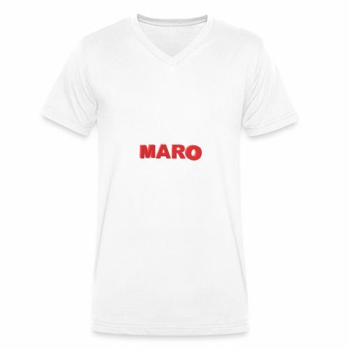 MARO VETEMENT - T-shirt bio col V Stanley & Stella Homme
