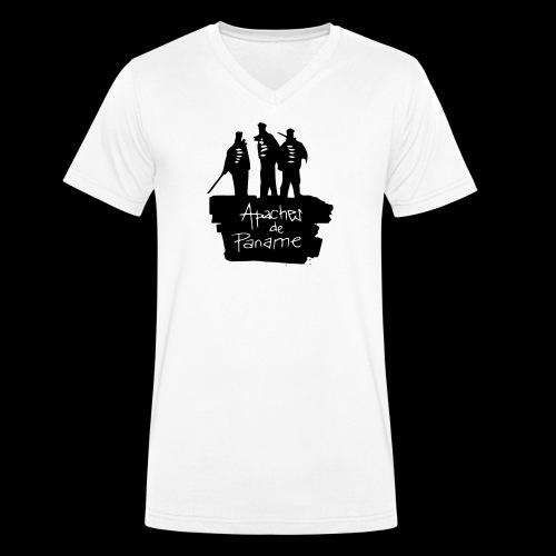 Apaches de Paname - T-shirt bio col V Stanley & Stella Homme