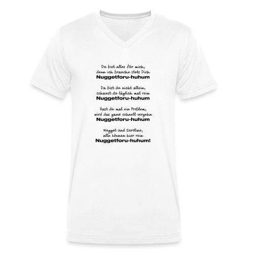 Du bist alles für mich - Männer Bio-T-Shirt mit V-Ausschnitt von Stanley & Stella