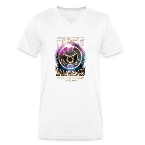 TAUREAU - T-shirt bio col V Stanley & Stella Homme