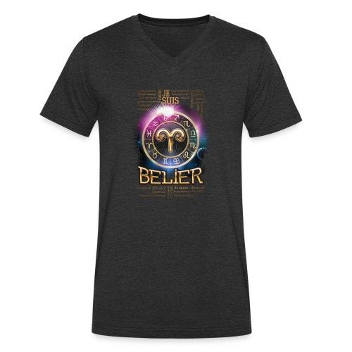 BELIER - T-shirt bio col V Stanley & Stella Homme