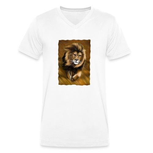 Il vento della savana - T-shirt ecologica da uomo con scollo a V di Stanley & Stella