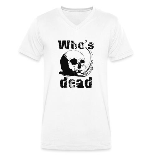 Who's dead - Black - T-shirt ecologica da uomo con scollo a V di Stanley & Stella