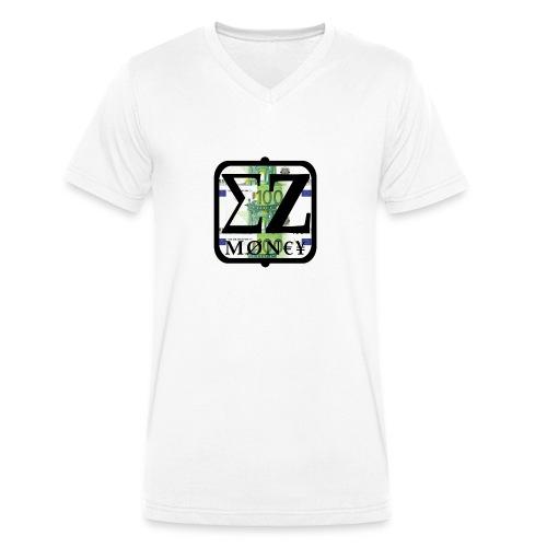 EZ MoNeY - Men's Organic V-Neck T-Shirt by Stanley & Stella