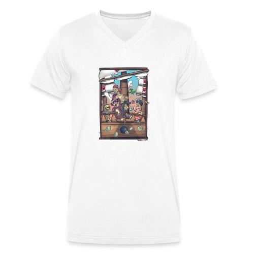 les pirates - T-shirt bio col V Stanley & Stella Homme