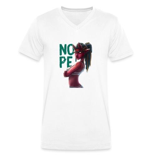 Demon of NOPE - Männer Bio-T-Shirt mit V-Ausschnitt von Stanley & Stella