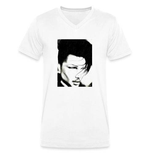 AngelWingsArt - Männer Bio-T-Shirt mit V-Ausschnitt von Stanley & Stella