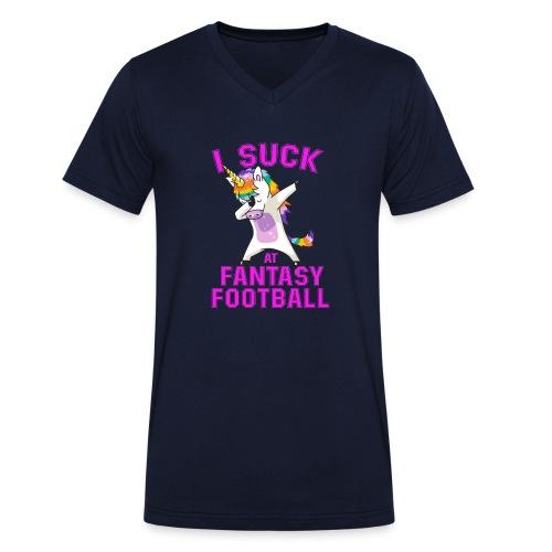 FANTASY - Ekologisk T-shirt med V-ringning herr från Stanley & Stella