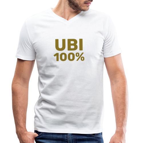 UBI 100% - Men's Organic V-Neck T-Shirt by Stanley & Stella