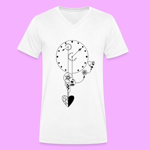 L'amour - T-shirt bio col V Stanley & Stella Homme