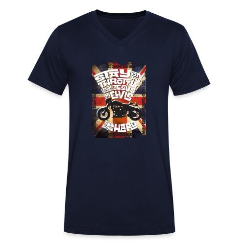 Kabes British Customs - Men's Organic V-Neck T-Shirt by Stanley & Stella