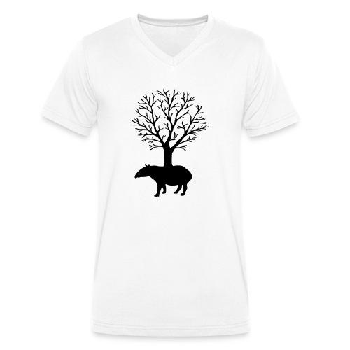 Save the Nature - Männer Bio-T-Shirt mit V-Ausschnitt von Stanley & Stella