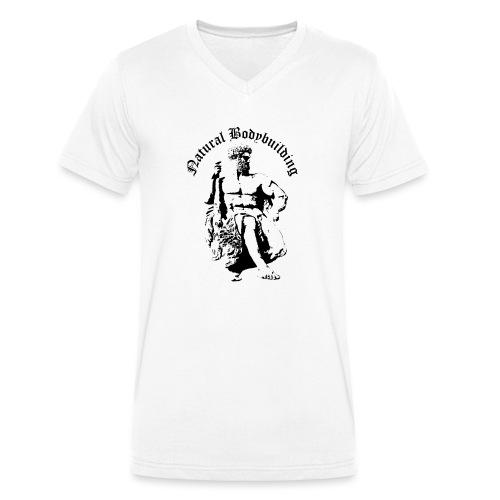 natural bodybulding - Ekologiczna koszulka męska z dekoltem w serek Stanley & Stella