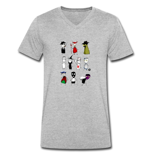 Bad to the bone - Men's Organic V-Neck T-Shirt by Stanley & Stella