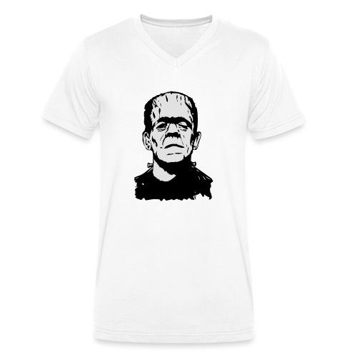 Boris Karloff (two colours) - Männer Bio-T-Shirt mit V-Ausschnitt von Stanley & Stella