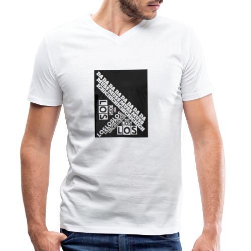 MUSS LOS! - Männer Bio-T-Shirt mit V-Ausschnitt von Stanley & Stella