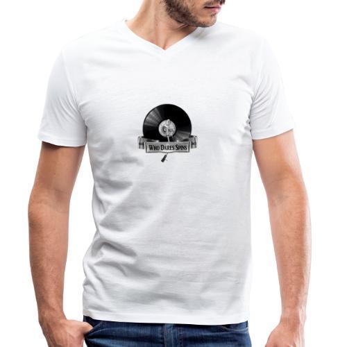 Badge - Men's Organic V-Neck T-Shirt by Stanley & Stella
