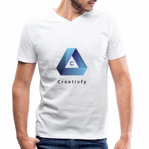 creativfy - Männer Bio-T-Shirt mit V-Ausschnitt von Stanley & Stella