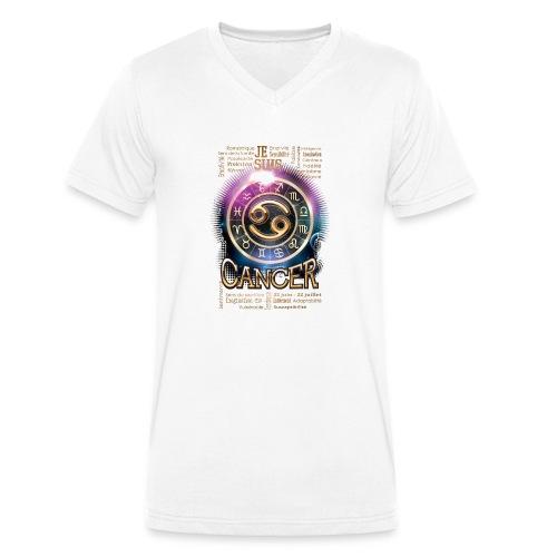 CANCER - T-shirt bio col V Stanley & Stella Homme