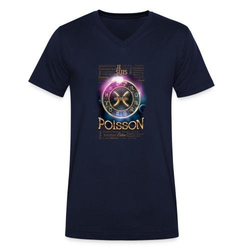 POISSONS - T-shirt bio col V Stanley & Stella Homme