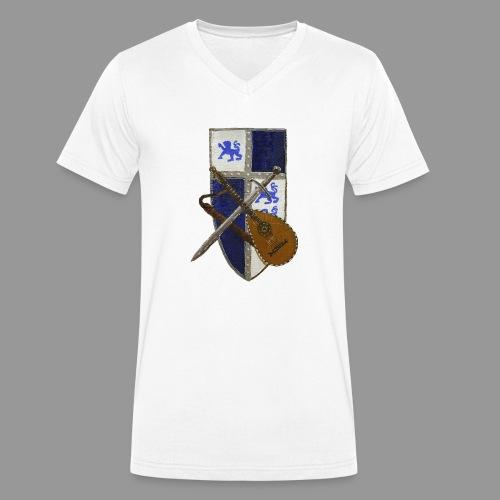 vonardingen_wappen - Männer Bio-T-Shirt mit V-Ausschnitt von Stanley & Stella