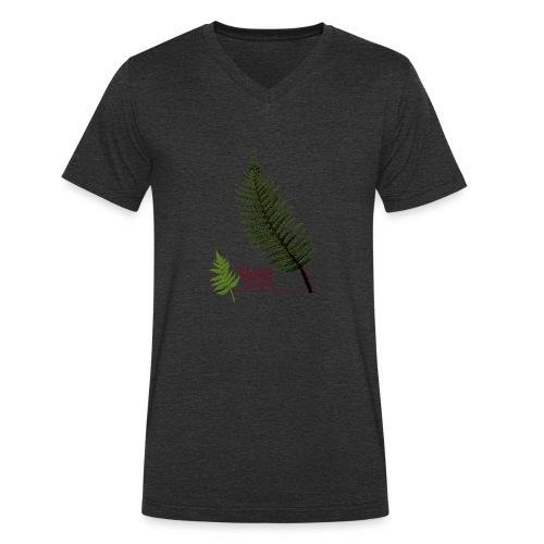 Polyblepharum - Mannen bio T-shirt met V-hals van Stanley & Stella