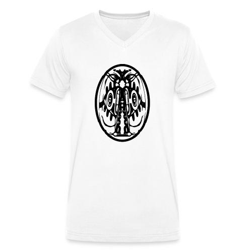 outface23 - Männer Bio-T-Shirt mit V-Ausschnitt von Stanley & Stella