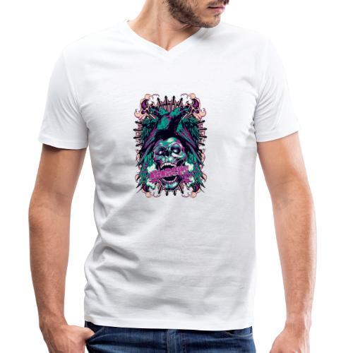 Anarchy - Camiseta ecológica hombre con cuello de pico de Stanley & Stella