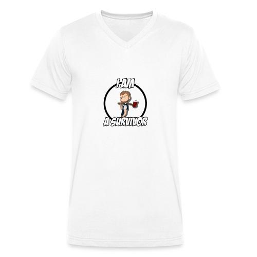 Game Survivant - T-shirt bio col V Stanley & Stella Homme
