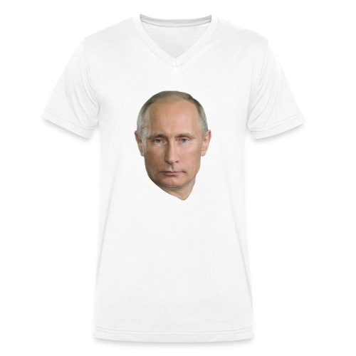 Putin - Men's Organic V-Neck T-Shirt by Stanley & Stella