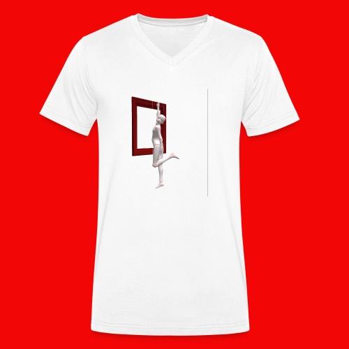 BaG-DoLL - T-shirt ecologica da uomo con scollo a V di Stanley & Stella