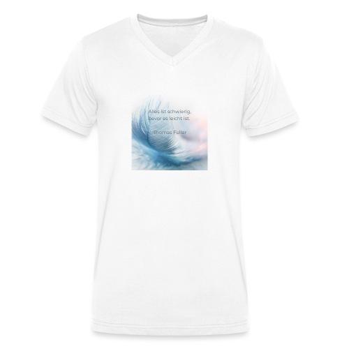 Leicht - Männer Bio-T-Shirt mit V-Ausschnitt von Stanley & Stella