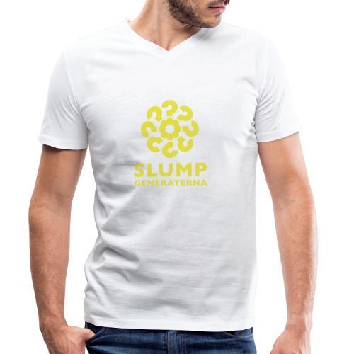 Slumpgeneraternas partisymbol - Ekologisk T-shirt med V-ringning herr från Stanley & Stella