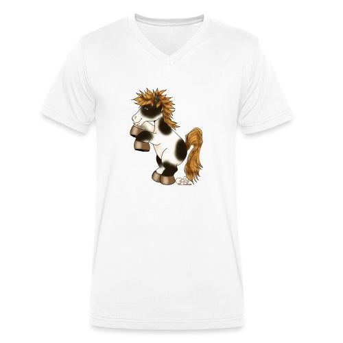 Hottehüü - Männer Bio-T-Shirt mit V-Ausschnitt von Stanley & Stella
