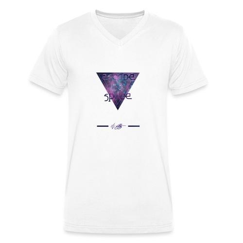 escape to space ~ N.Cuntz - Männer Bio-T-Shirt mit V-Ausschnitt von Stanley & Stella