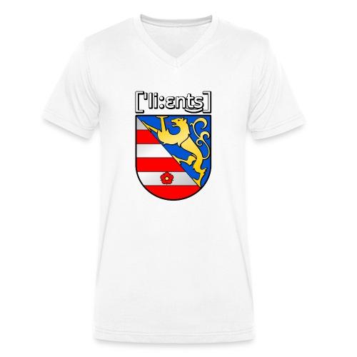 Lienz Wappen Shirt - Männer Bio-T-Shirt mit V-Ausschnitt von Stanley & Stella