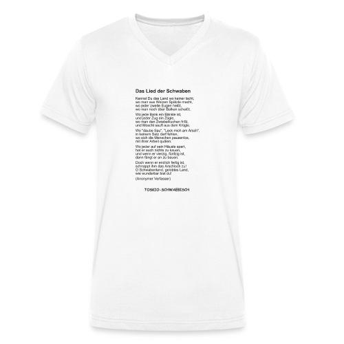 Das Lied der Schwaben - - Männer Bio-T-Shirt mit V-Ausschnitt von Stanley & Stella