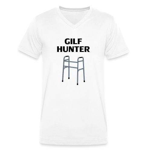 GILF Hunter - Männer Bio-T-Shirt mit V-Ausschnitt von Stanley & Stella
