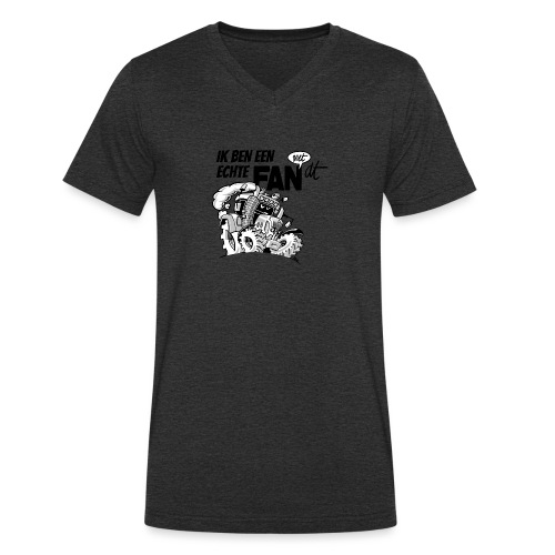 0922 Ik ben een FAN met DT - Mannen bio T-shirt met V-hals van Stanley & Stella