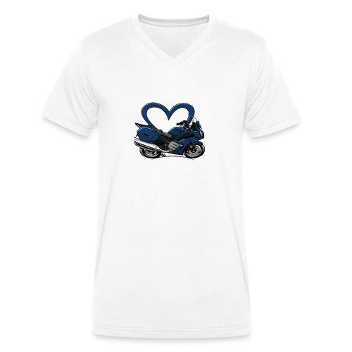 love FJR - Mannen bio T-shirt met V-hals van Stanley & Stella