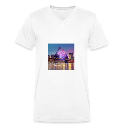 10F9E8E4 EFC0 46A6 A8B1 21E85A91EB34 - Ekologisk T-shirt med V-ringning herr från Stanley & Stella