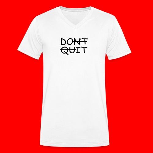Don't Quit, Do It - Økologisk Stanley & Stella T-shirt med V-udskæring til herrer