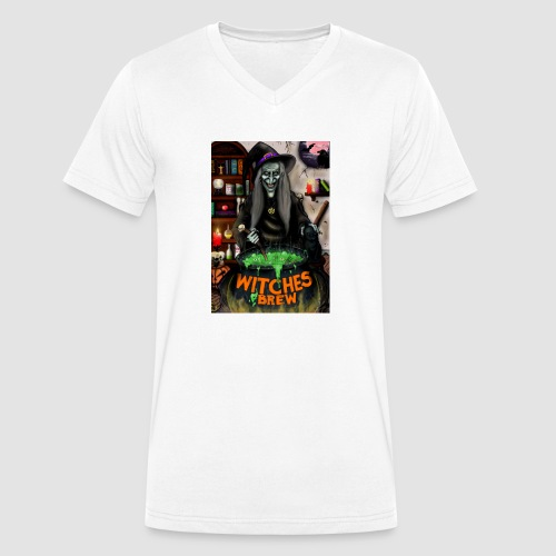 The Witch - Men's Organic V-Neck T-Shirt by Stanley & Stella