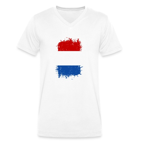 Niederlande - Männer Bio-T-Shirt mit V-Ausschnitt von Stanley & Stella