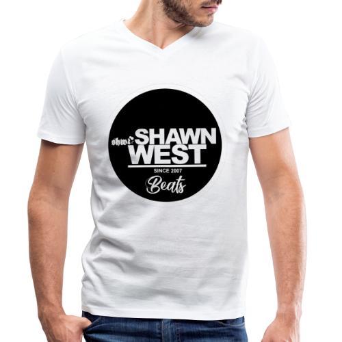 SHAWN WEST BUTTON - Männer Bio-T-Shirt mit V-Ausschnitt von Stanley & Stella