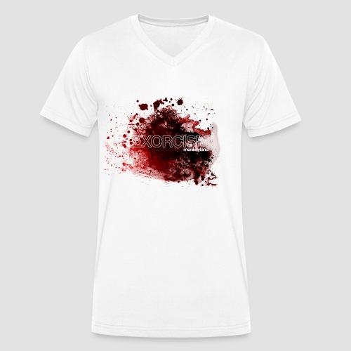 Exorcism - Men's Organic V-Neck T-Shirt by Stanley & Stella