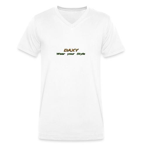 Herren Sixpack Shirt von DAXY - Männer Bio-T-Shirt mit V-Ausschnitt von Stanley & Stella