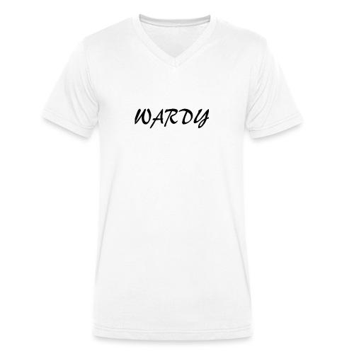 Wardy T - Shirt - Men's Organic V-Neck T-Shirt by Stanley & Stella